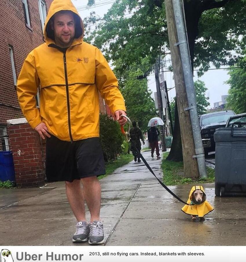 Yuk, Intip Beberapa Jas Hujan yang Unik dan Lucu Ini