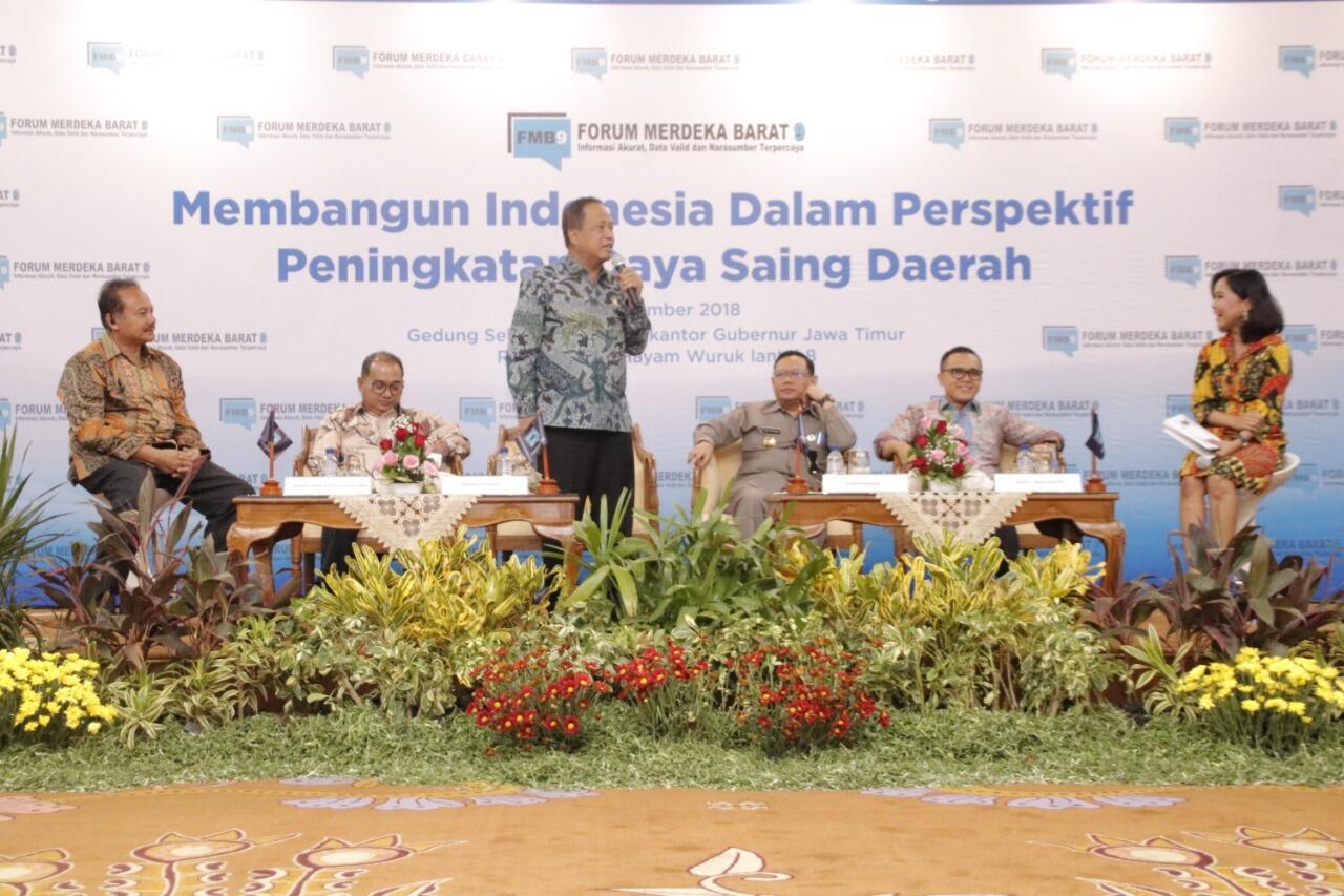 PDRB Provinsi Jawa Timur Sumbang 14,67% Terhadap PDB Nasional