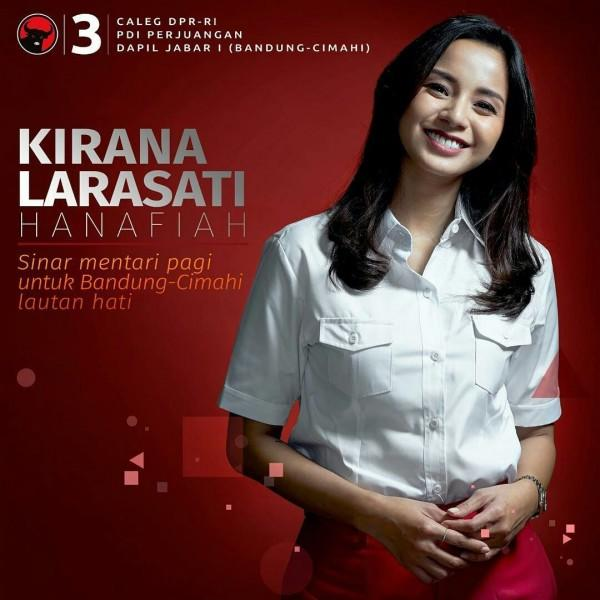 Terjun ke Politik, 10 Potret Terbaru Kirana Larasati saat Sibuk Nyaleg