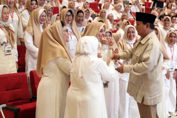 Prabowo: Nasib Suatu Bangsa Tergantung Emak-emak