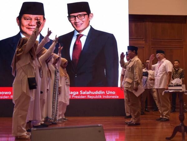 Prabowo Sebut Koalisi Pendukungnya Agak Aneh