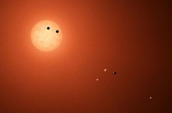 10 Fakta Menggembirakan Trappist-1, Sistem dengan 7 Planet Mirip Bumi