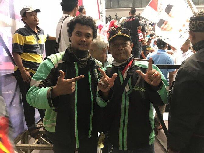 Prabowo Akan Dijadikan Sebagai Bapak Ojek Online