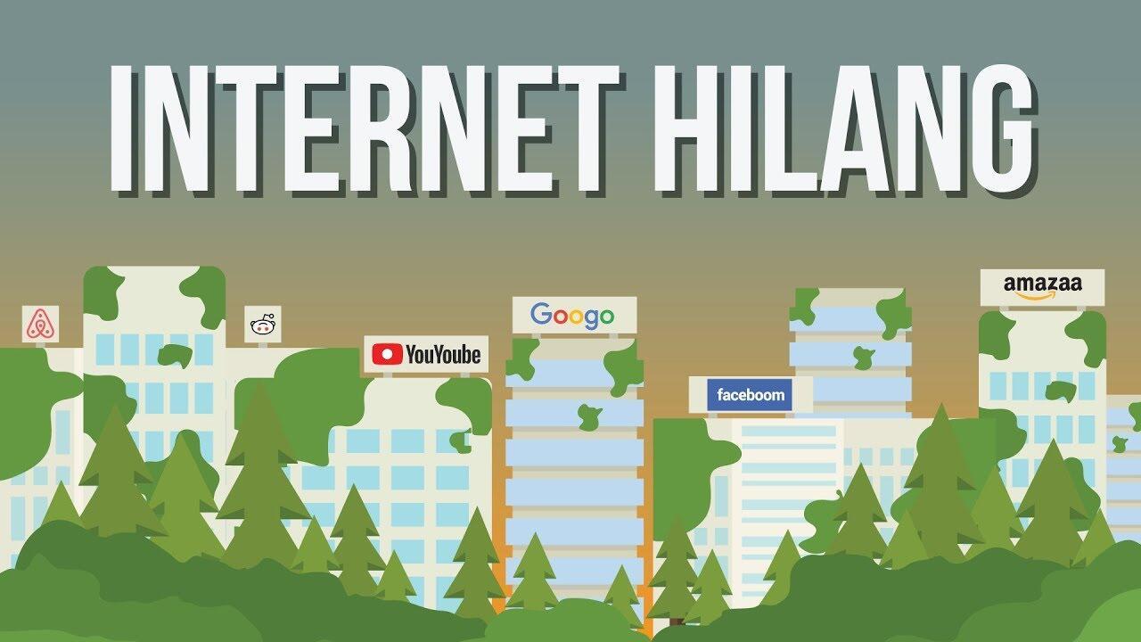 Apa Yang Terjadi Kalau Tiba - Tiba Internet Menghilang
