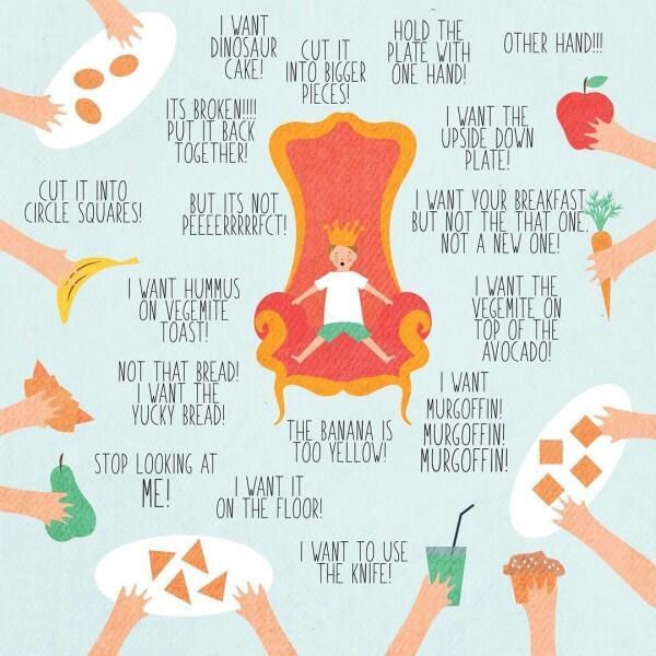 15 Ilustrasi Keseharian Bunda Ngasuh Anak yang Bikin Gregetan