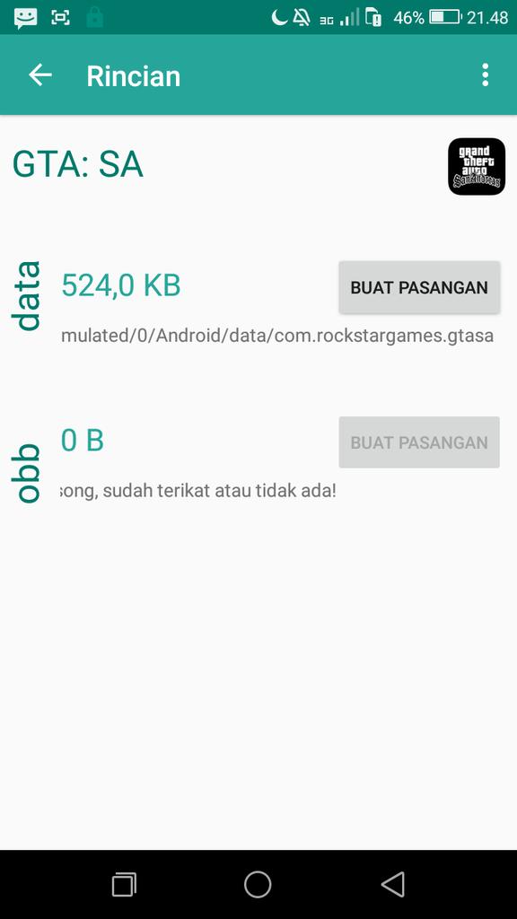 Cara Agar Data Obb Game Android Bisa Di External Sd