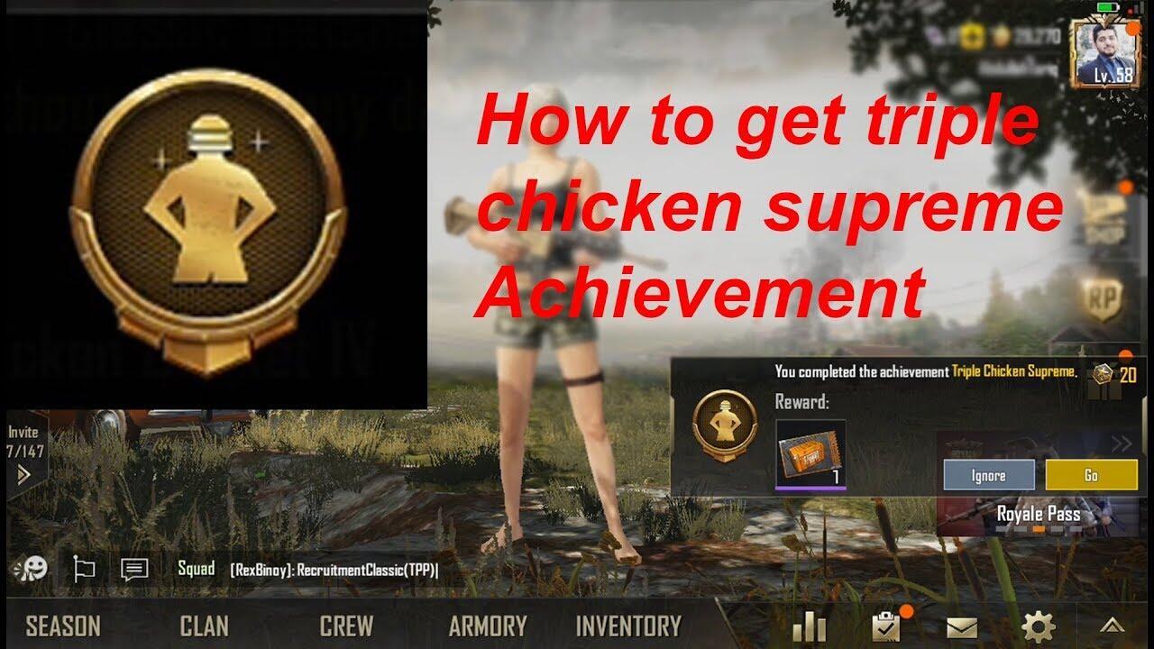 Nih Gan, Cara Biar Bisa Beresin Triple Chicken Supreme PUBG