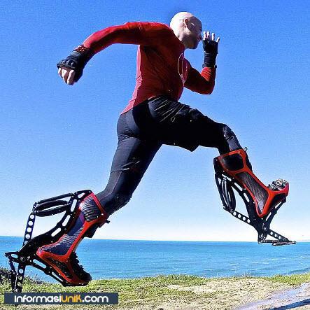 WOW ! Sepatu Boots Ini Bisa Sampai Kecepatan 40Km/Jam !