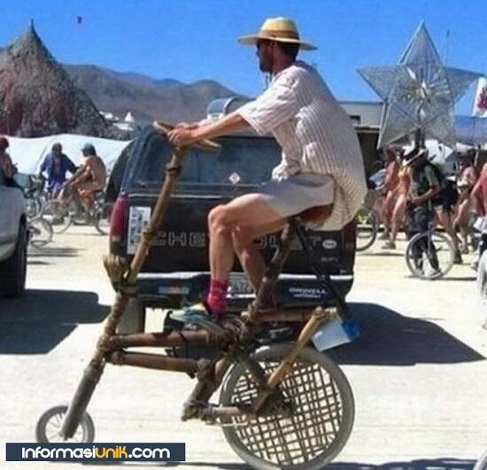 Bikin Ngakak , Desain Sepeda Unik Di Dunia Gan !!!
