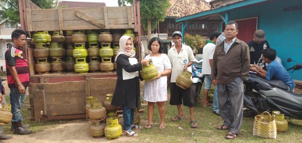 Agen Elpiji Wilayah Banyuasin Sebut tidak Ada Kelangkaan Gas 3 Elpiji Kilogram
