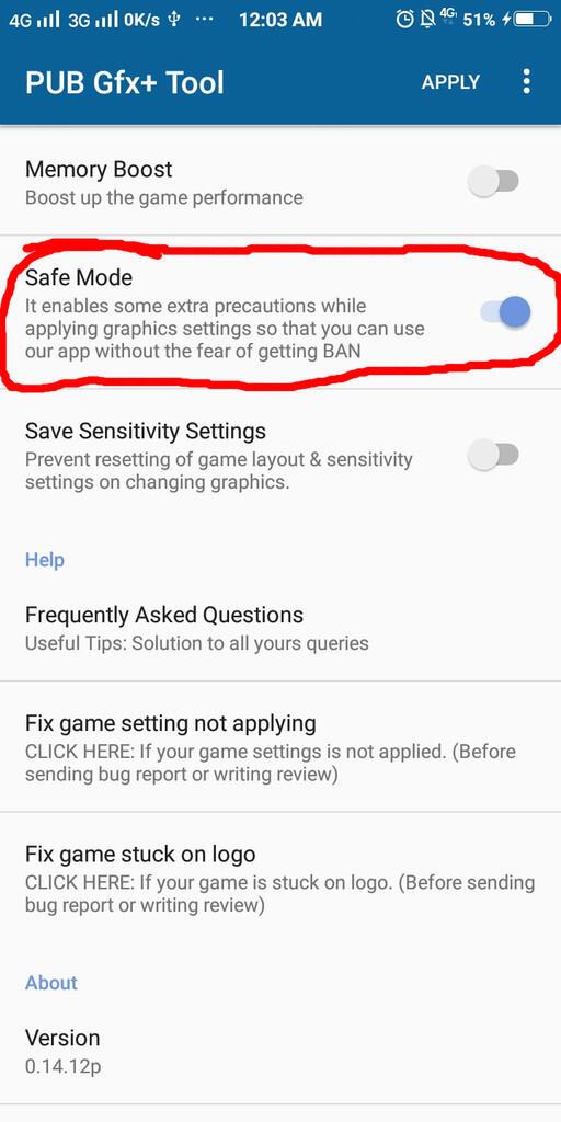 [CARA] Agar Tidak Terbanned Saat Menggunakan GFX Tools di PUBG Mobile!!
