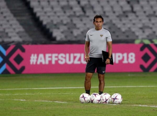 Tersingkir dari Piala AFF 2018, Bima Sakti Soroti Laga Uji Coba