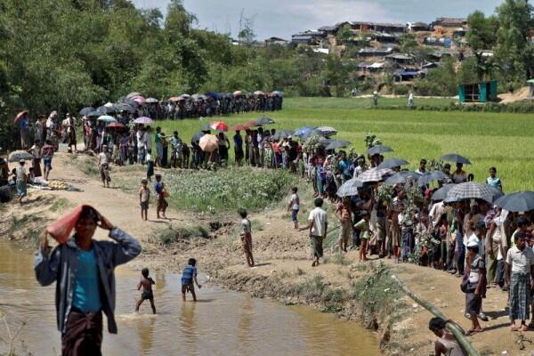 Pengungsi Rohingya Puji Pemerintah Indonesia