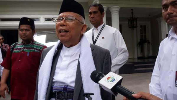 Ma'ruf Amin Mendapat Dukungan dari Komunitas Disabilitas