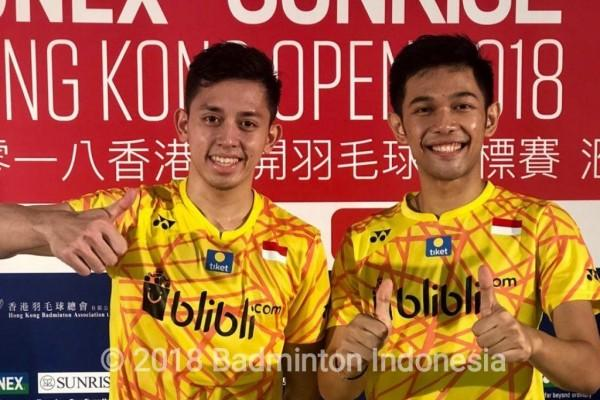 Kalahkan Unggulan China, Fajar/Rian Lolos ke Semifinal Syed Modi