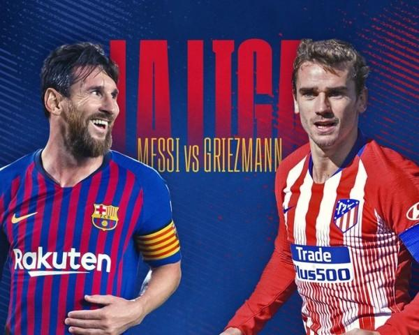 Preview Atletico Madrid Vs Barcelona, Duel Perebutan Tahta La Liga