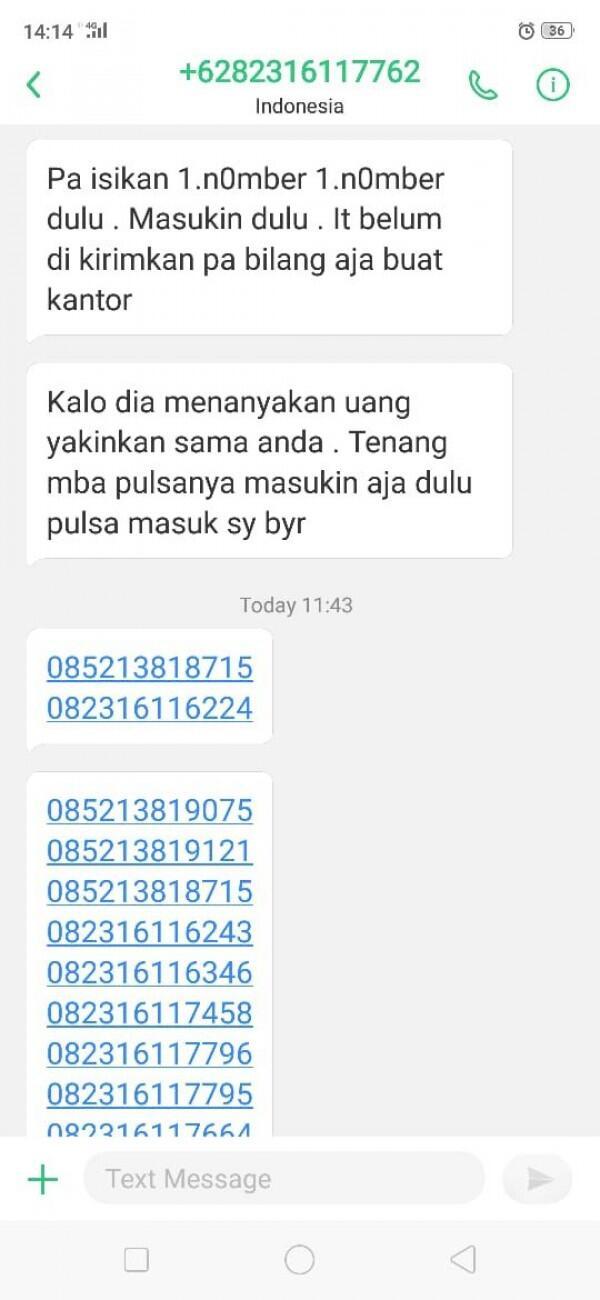 "Pria di Bekasi Jadi Korban Penipuan ""Minta Pulsa"" Hingga Rp3 Juta"