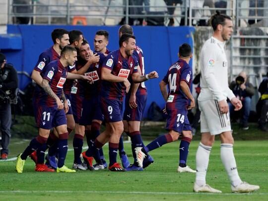 Sukses Tumbangkan Madrid, Eibar Persembahkan Kemenangan Ini untuk Indonesia