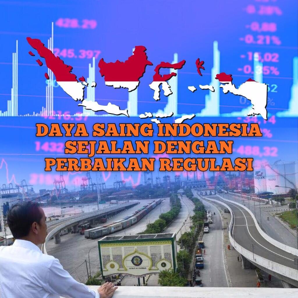 Pembangunan Infrastruktur Digenjot, Daya Saing Indonesia Meningkat