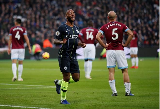 Hasil Liga Inggris: Man City Hancurkan West Ham