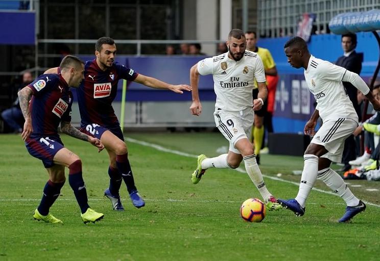 Hasil Liga Spanyol: Eibar Tundukkan Real Madrid