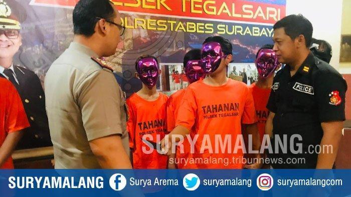 Masih Berusia Belasan Tahun, Tapi 6 Remaja Ini Sering Bikin Resah di Surabaya