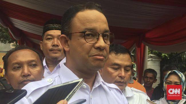 Datang ke Resepsi Baim Wong, Anies Bahas Presiden Jomblo