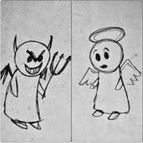 Dilahirkan Malaikat dibesarkan Iblis (PENGGEMAR NOLEP KUDUS TAEK JANGAN BACA)