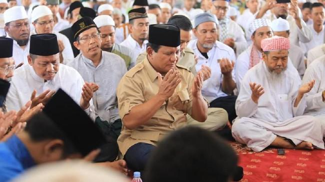 Prabowo: Saya Ikuti Jejak Pengabdian Hidayatullah ke Agama Islam