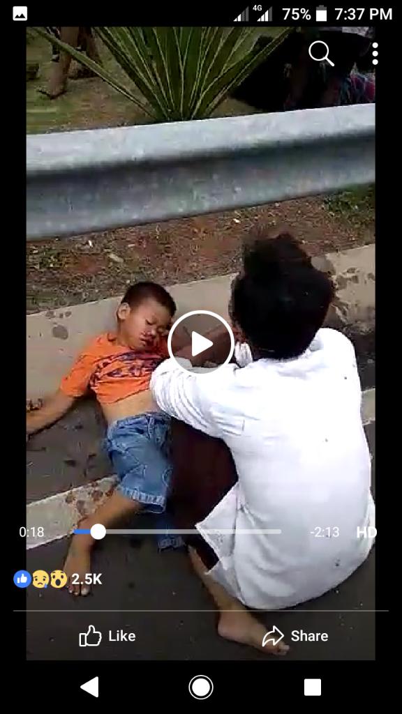 Kecelakaan Santri Di Cipondoh (From FB)