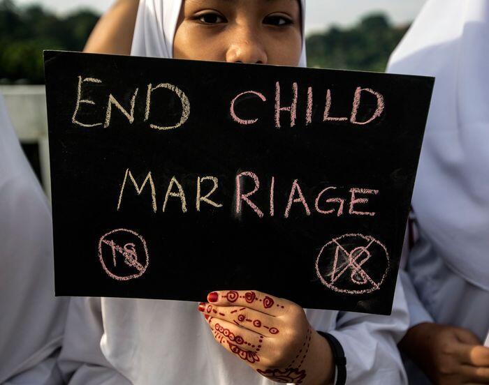 Petaka pernikahan anak di Indramayu