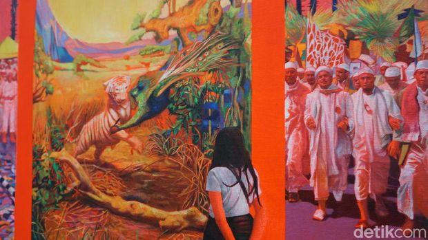 Ada Lukisan Rizieq Shihab di Pameran Seni Brisbane