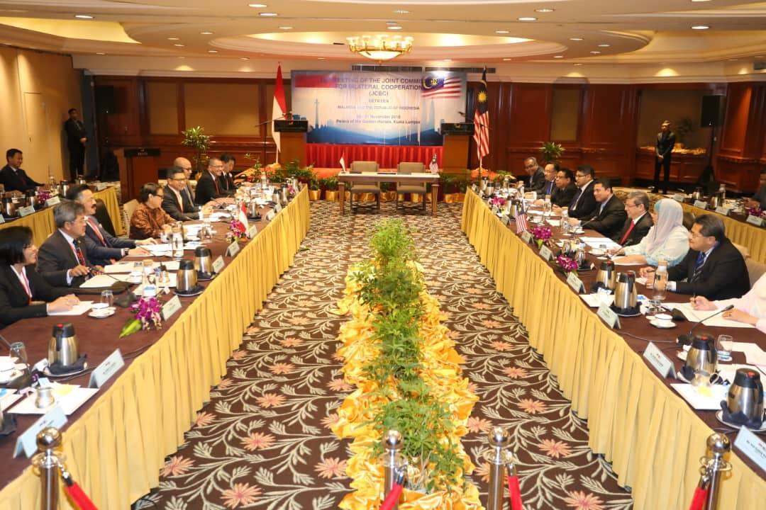 Pererat Hubungan Bilateral, RI-Malaysia Gelar Pertemuan JCBC