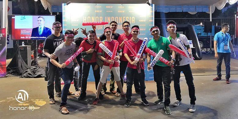 Dukungan Penuh Honor Indonesia dalam AFF Suzuki Cup 2018