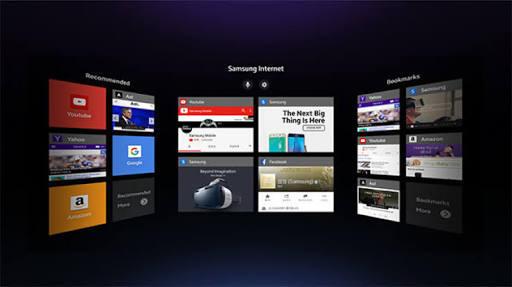 VR Internet : Sebuah Terobosan Samsung yang menjadi masa depan dunia maya