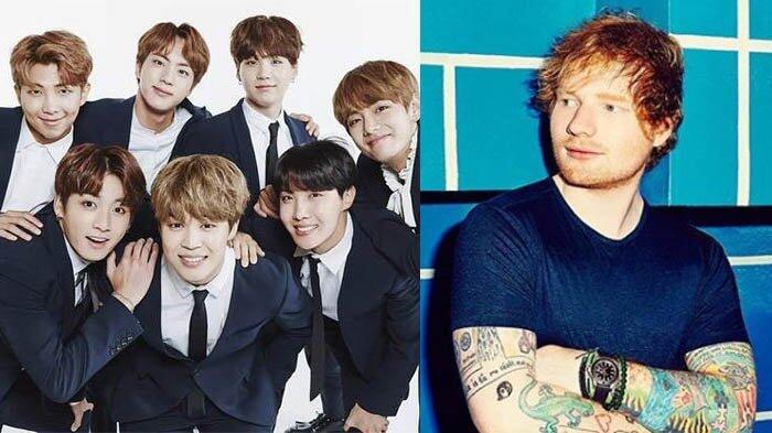 Kolaborasi BTS dan Ed Sheeran Semakin Dekat?