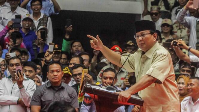 Pinjaman Ditolak BI, Prabowo Bergantung Bantuan Rakyat