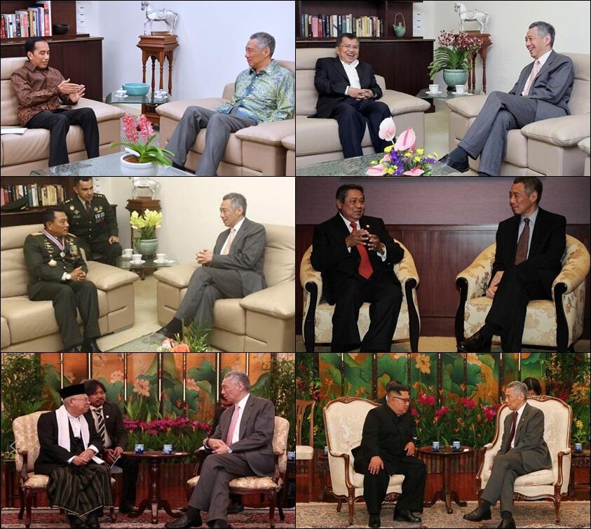 Prabowo Bertemu PM Singapura, Apa yang Dibahas ?