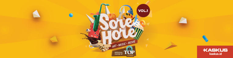 Menikmati Weekend Dengan Suguhan Art, Music, dan Movie di Sore Hore Vol. 1