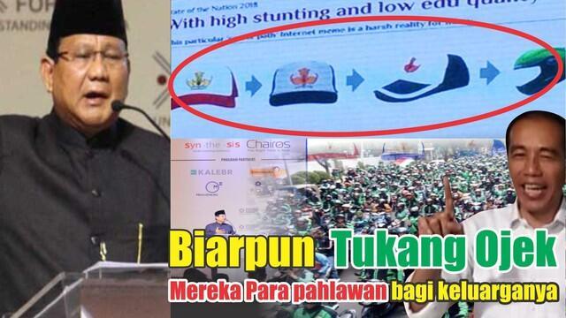 Salah Siapa !! Ojek Online Atau Prabowo ?