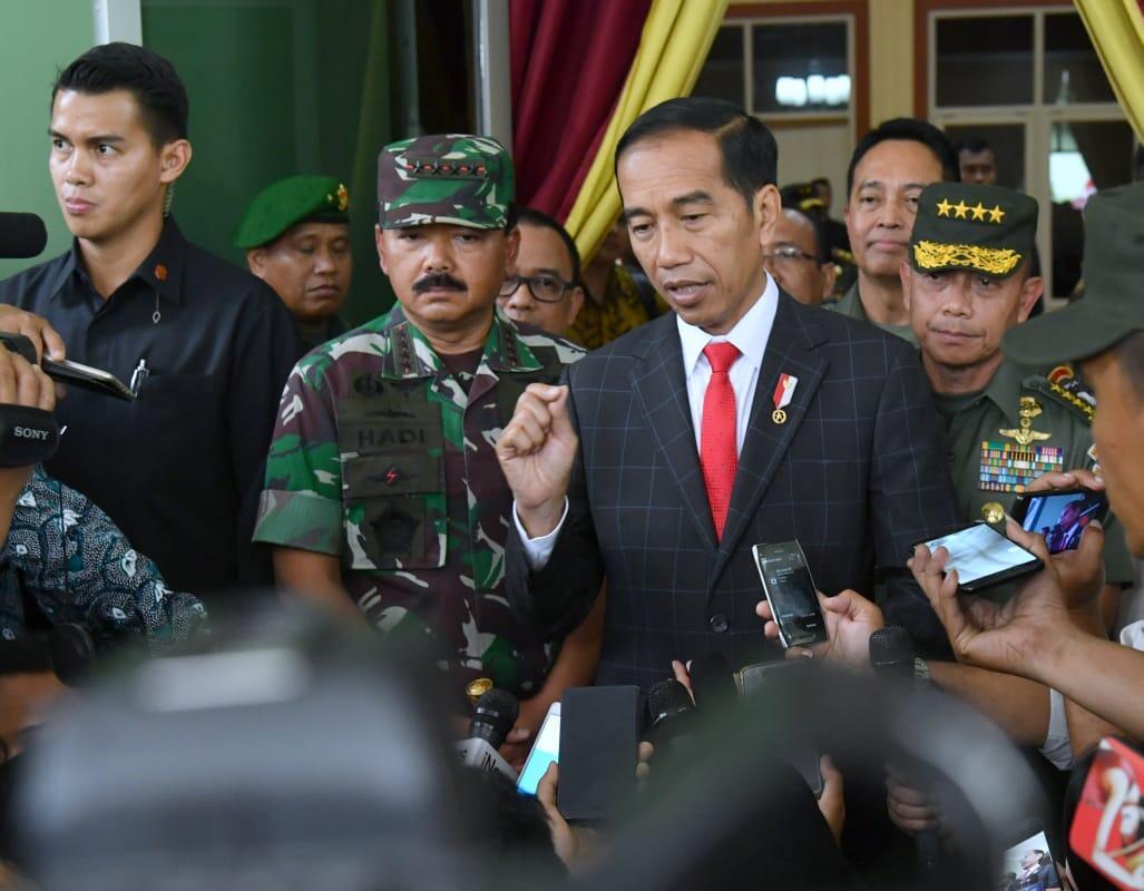 Presiden Kembali Ingatkan TNI Harus Jaga Netralitas