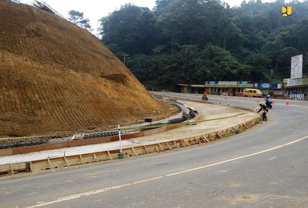 Kementerian PUPR Tangani Pelebaran Jalur Puncak Bogor