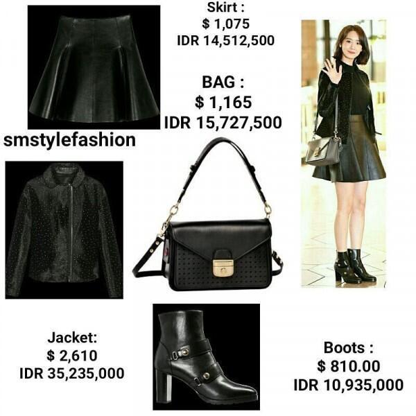 Serba Mahal Bak Fashionista! Ini Harga 7 Outfit Keren Yonna SNSD