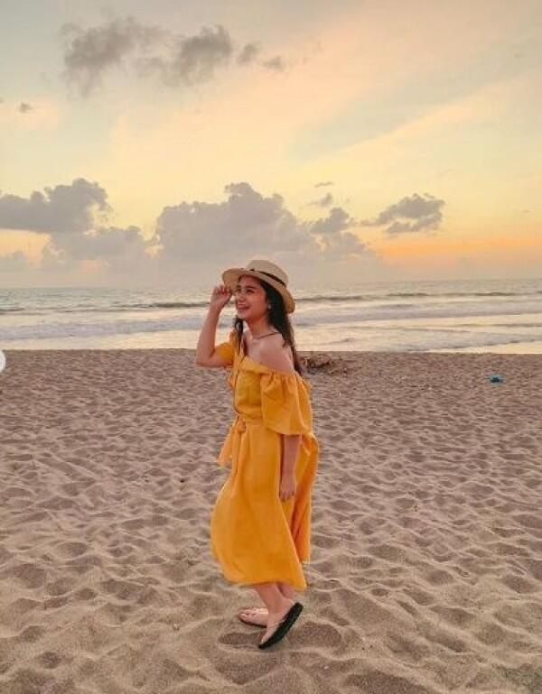10 Potret Liburan Tissa Biani di Bali yang Manis Banget!