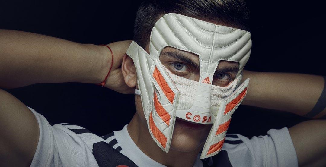 Lah Iya! Adidas Bikin Topeng Copa 19 ala Gladiator untuk Dybala