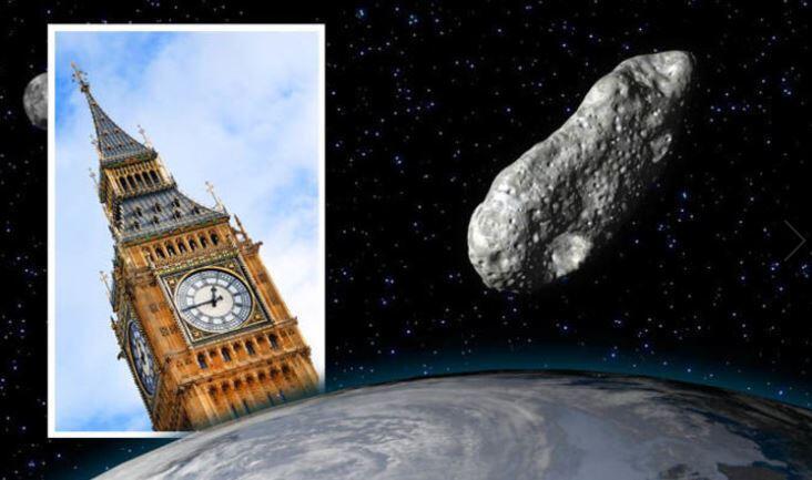 Apa Iya Asteroid 2 Kali Lipat Ukuran Big Ben Akan Hantam Bumi?