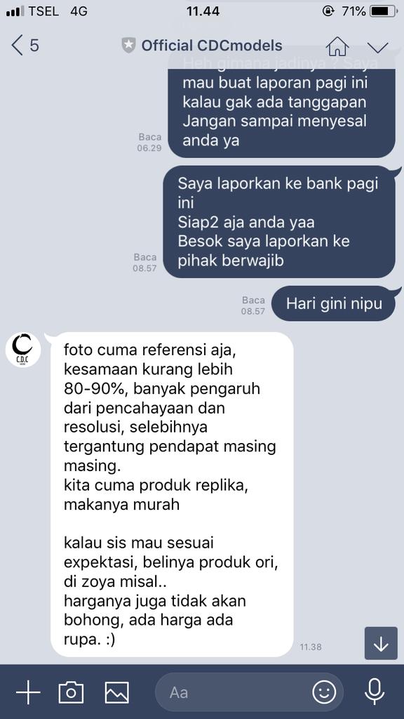 Cdcmodels penipu