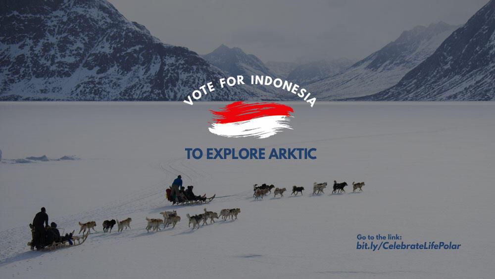 [NEED HELP] VOTE INDONESIA TO EXPLORE ARKTIC