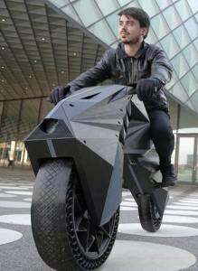 Kenalin, Inilah Motor Pertama Dunia Hasil Print 3D Siap Gass!