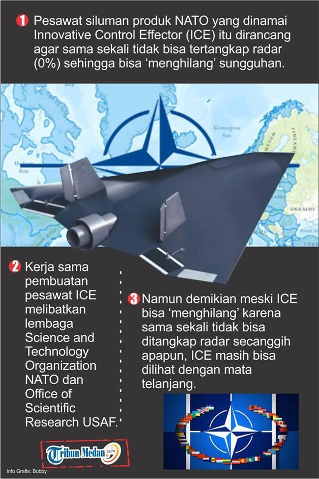 NATO Bikin Pesawat Siluman yang Benar-benar Bisa 'Menghilang